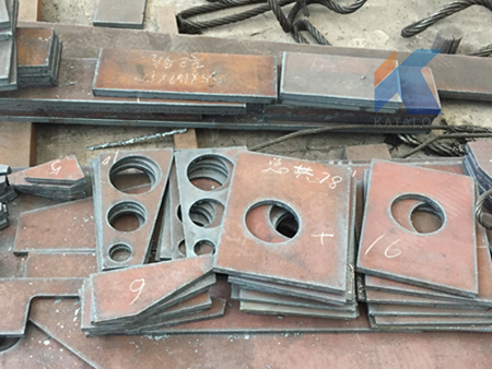 Steel Plates Cutting Process with CNC Flame Cutting Machine