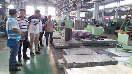 Application of steel plate NC cutting parts-steel plate cutting